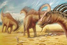 Paleontology and prehistoric life on earth.