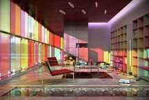 Colourful spaces