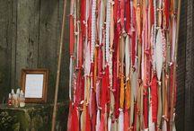 Ribbon wedding / Ribbon wedding backdrops,ceremonies and decorations