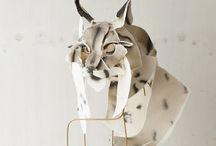 sculptures and masks