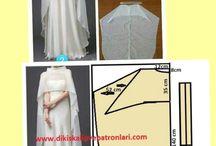Pola baju dewasa