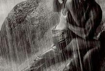 in rain
