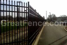 Metal Security Fencing / High Security Metal Fencing
