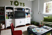Kids playroom / by Kelsey Wilson