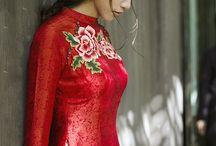 Vietnamesisk tradition kjoler