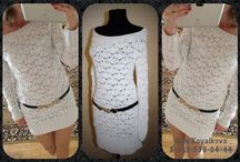 Crochet knitting dress tunic sweaters / Коллекция платьев. кофт и туник