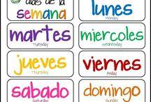 Vocabulario unidad 1, Spanish 2