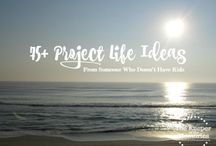 Everything Project Life Related / Project Life, printables, ideas, DIY