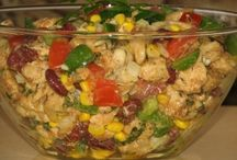 Kuřecí saláty