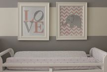 Nursery decor  / by Melissa