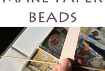 PAPERS & FABRIC BEADS