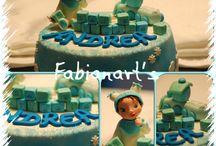 Torte cake design / Le torte di Fabiana