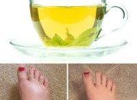 tea for swallow feet
