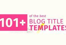 Web: Blog