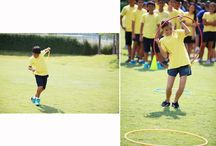 Secondary Obstacle Course Race 2016 / Our House events began in Secondary with an obstacle course race. Tiger, Eagle, Cobra and Gecko students jumped through hoops, threw balls and jumped over cones to win points for their Houses. There could only be one winner, so well done to Gecko who have made a strong start; can they win back the trophy they held for so long?'