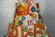 5 tiered Celebration Cakes