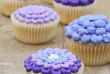 Cake & Cupcake Decorating Ideas!! / Buttercream tips & tricks for beautiful cakes and cupcakes. Using decorative tips, household tools, and food color to create stunning (but EASY!) designs! / by Amanda Rettke