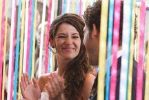 Versieringen voor bruiloft