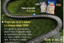 Infográficos / by Maria Eduarda Michael (Dud's)
