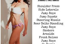 My Workouts! / by Diane Flores