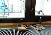 Poškozené dřevěné okno / Damaged wooden window / Oprava poškozeného rámu dřevěného okna