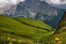 Alpok , Kárpátok / Alps ,Carpathians