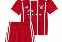 Dětské Fotbalové Dresy Bayern München / Dětské fotbalové dresy Bayern München levně. Dětský Dresy Bayern München Domácí Dres/Venkovní Dres/Alternativní Dres/Dlouhý Rukáv s vlastním potiskem.