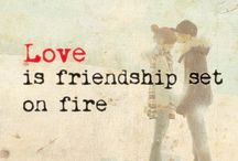 The Dirt on Love is... / Cute little sayings and images about love and couples.