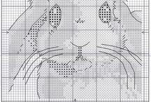 haft - króliczki