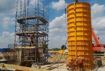 Indywidualne formy stalowe D250 przy budowie drogi S5. / Od kilku miesięcy trwa budowa nowej ponad 48-kilometrowej drogi ekspresowej S5. Budowa trzech dolnośląskich odcinków trasy Wrocław – Korzeńsko potrwa do grudnia 2017 roku. ULMA Construccion Polska S.A. jest partnerem generalnego wykonawcy przy budowie odcinka nr 1 o długości 14,9 km.