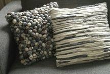 COJINES y lana