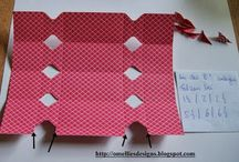 Crafts with PAPER + envelope punch board