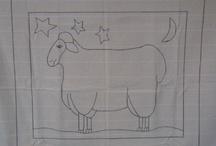 Rug Hooking / Primitive wool rug hooking / by Debbie Burns