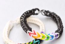 Loom Bands / Ideas for loom bands