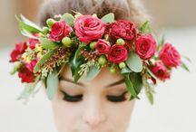 wedding | crowns + pins