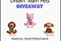 Win a Dream Team Pet! / This is your chance to win your own Dream Team Pet, and some sleep at bedtime!
