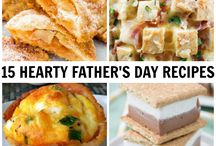 Father's Day Celebration Recipes, Crafts and Gift Ideas / Make Dad feel special on Father's Day! Recipes, crafts and gift ideas he will love.