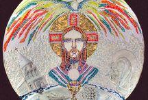 ART Bas-relief trinité