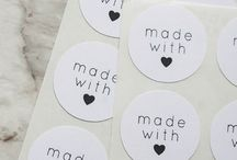 ♥ C R A F T S T I C K E R S ♥ / Voorbeelden van craft stickers