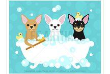 Lee ArtHaus Chihuahua Dog Products / Lee ArtHaus Chihuahua Dog Products