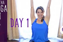 30 Day hatha yoga happiness challenge