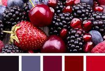 vhodné kombinace barev