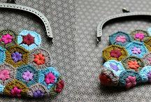 Purses & Clutches / Crochet purses and clutches
