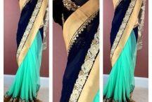 saree ideas for farewell