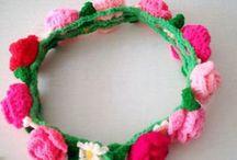 Crochet flowersss