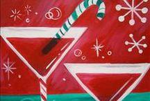 Christmas Art to Paint