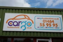 Corperate identity / Cargo Huddersfield brand and image