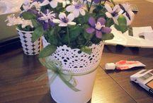ipek kozası çiçeklerim