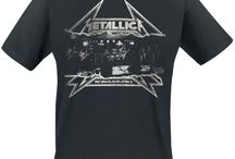 Metallica T- Shirts / T-shirts from one of Heavy Metal's greatest - Metallica!