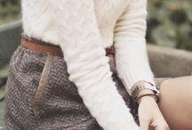 Saker att ha på sig, höst/vinter